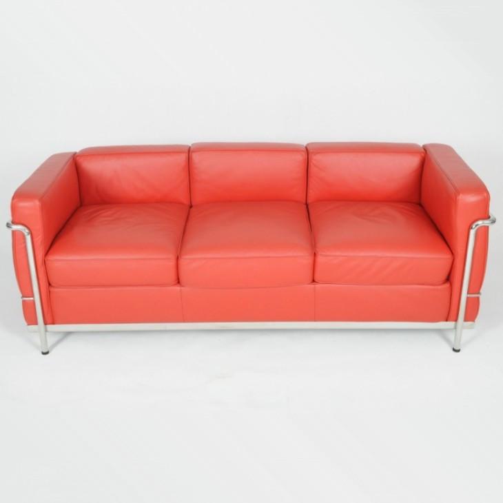 Le Corbusier Lc2 Sofa 3 Seat Lc2 Sofa Yadea