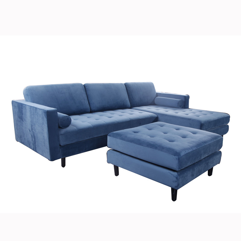 Sven Corner Fabric Sofa KS052