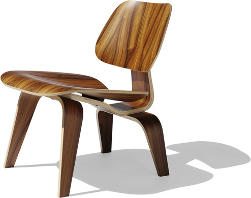 Eames Molded Plywood Lounge Chair CF047