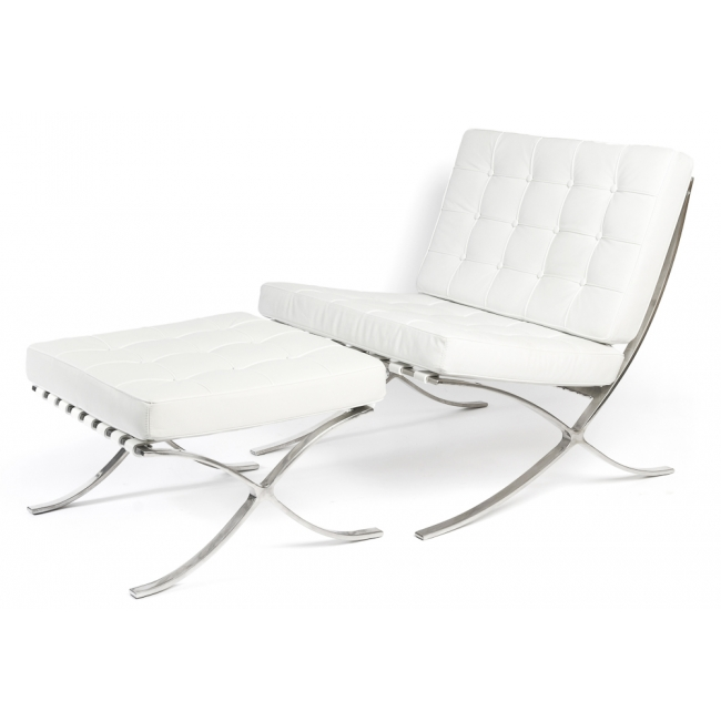 barcelona chair barcelona chair white leather barcelona chair in white