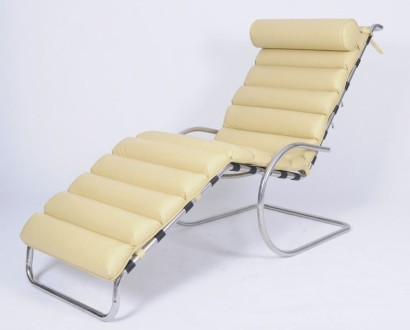 "MR Adjustable Chaise Lounge by <span class=""search_hl"">Mies van der</span> Rohe CF038"