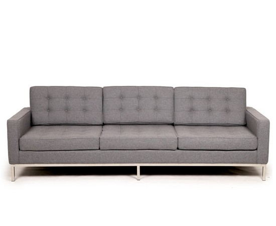 Knoll 3-Seat Sofa in Cashmere Wool CF029-3