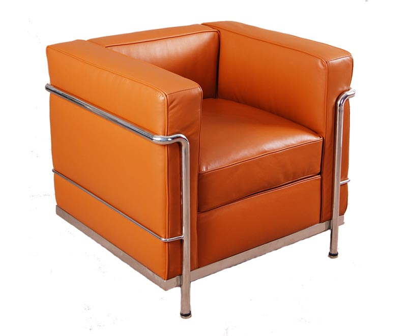 Le Corbusier LC2 leather armchair/sofa reproduction CF009