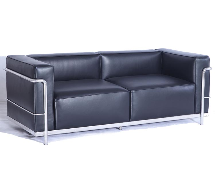 "<span class=""search_hl"">Le Corbusier</span> LC3 Sofa 2 Seater CF302-2"