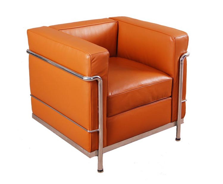 "<span class=""search_hl"">Le Corbusier</span> LC2 leather armchair/sofa reproduction CF009"