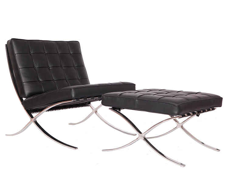 Knoll barcelona chair reproduction PV004