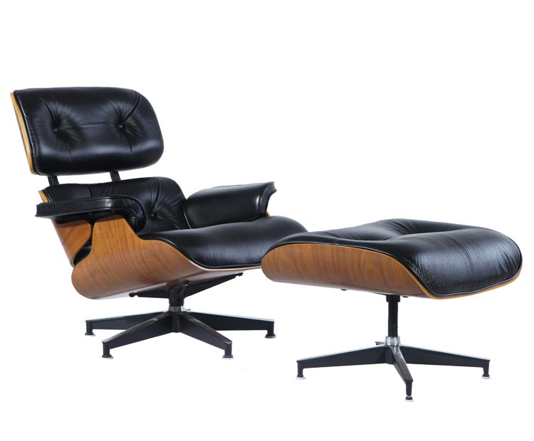 Eames Lounge Chair and Ottoman PV021-1-D