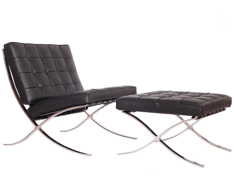 Knoll barcelona chair reproduction PV004-1-D