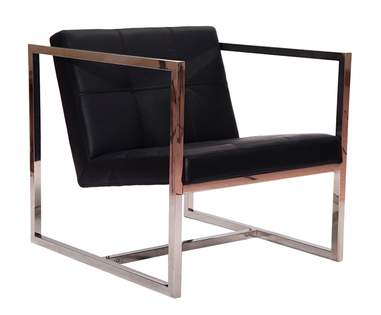 Angles Chair in Black DC011