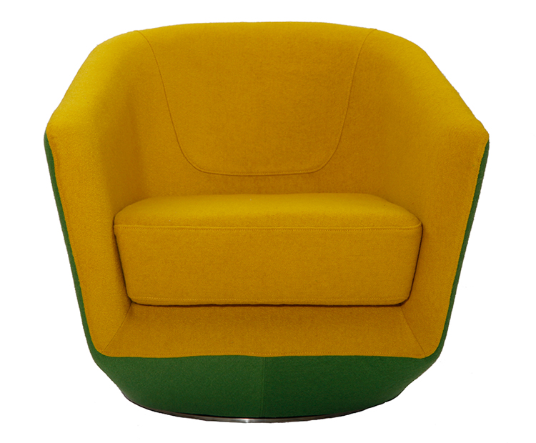 U-turn Swivel Chair PC012
