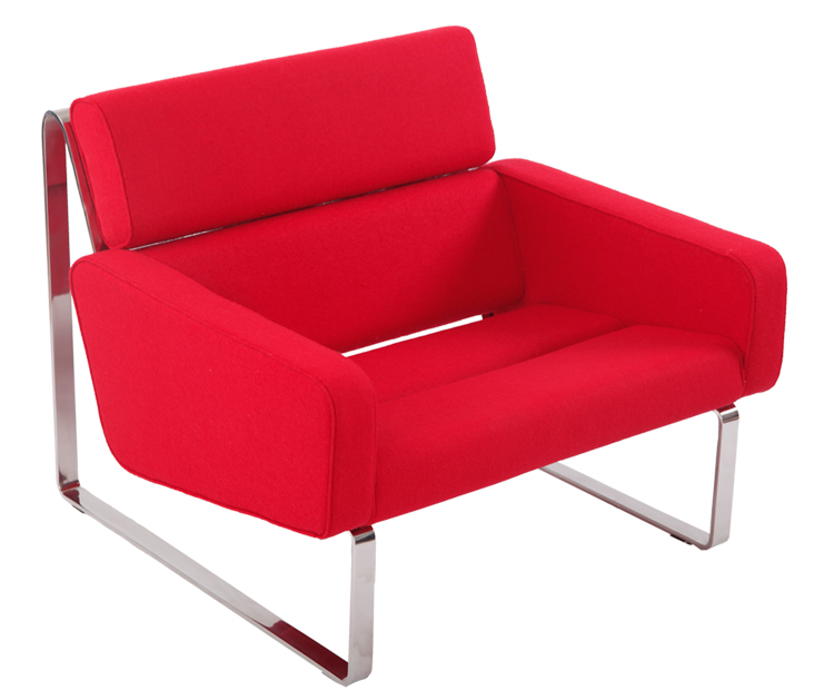Red Cashmere Jesper Holm Style Biotop Sofa DC019-1