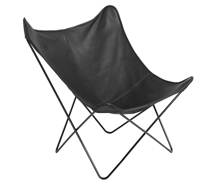 "Metal Frame Butterfly <span class=""search_hl"">Lounge Chair</span> DC025"
