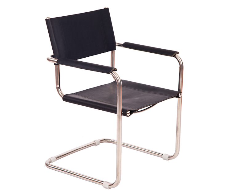 Saddle leather S34 Armchair by Mart Stam DC026