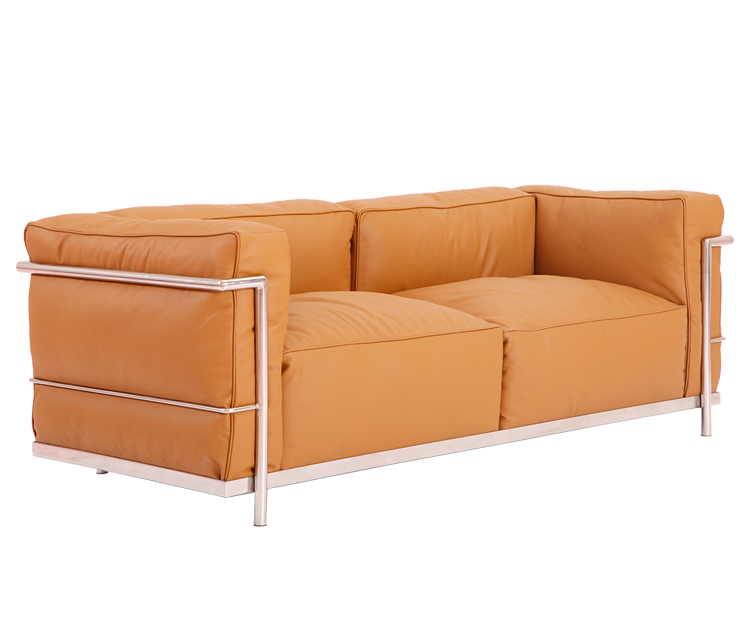 Le Corbusier LC3 Grand Modele Loveseat PV302-2S