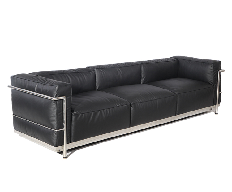 Le Corbusier LC3 Grand Modele Sofa PV302-3S