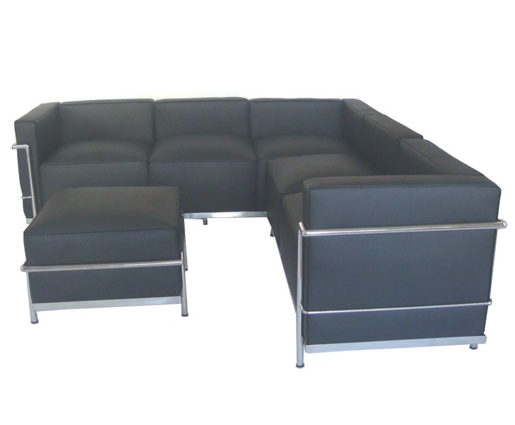 LC3 Corner Leather Sofa CF033