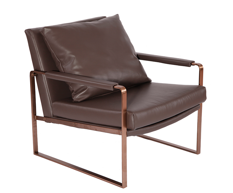 Leather Chaise Lounge Chairs YD081