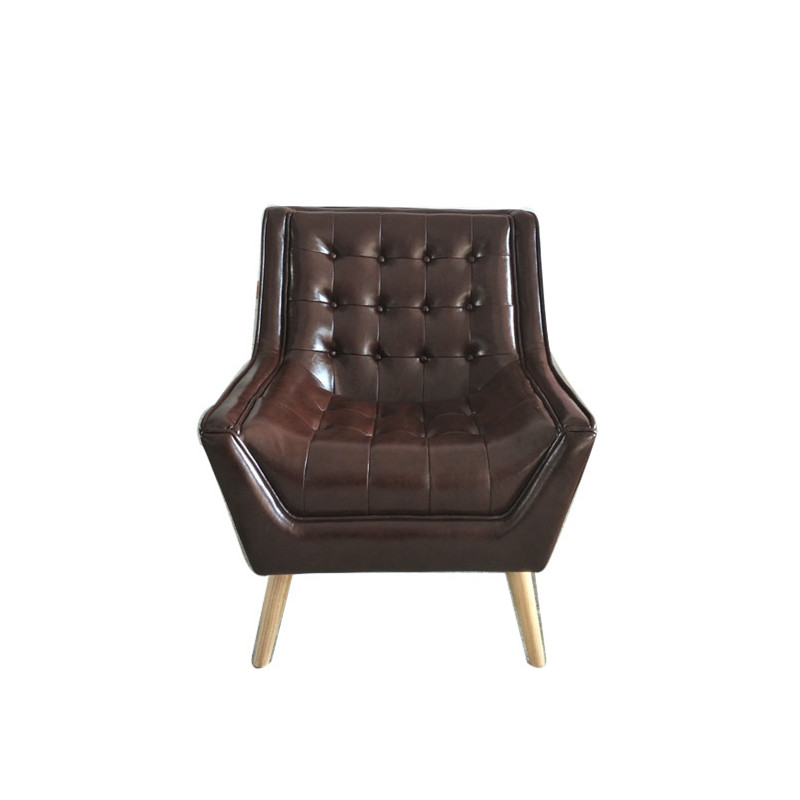 Leather Designer Armchair KC045