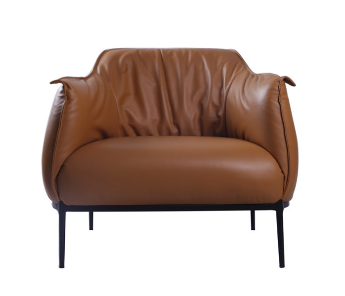 Archibald Leather Accent Chair Replica DC009-1