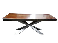 Spyder wood dining table by Philip Jackson KT002