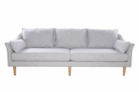Modern Living Room Furniture Linen Antwerp Sofa DS015