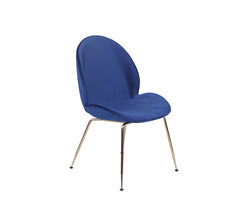 Gold Gubi beetle chair KC053