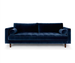 Sven Cascadia Luca Velvet Sofa Reproduction KS024-3