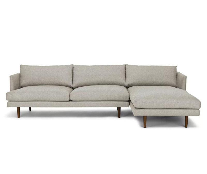 Burrard Seasalt Gray Right Sectional Sofa KS056
