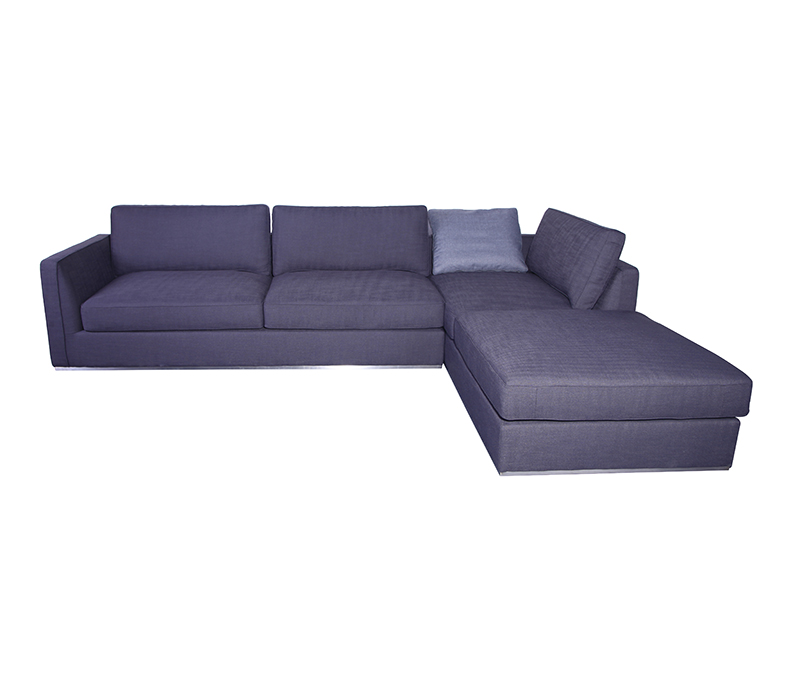 Grey Fabric Richard Sectional Sofa KS068-L