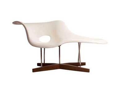 Eames la chaise yadea modern classic furniture for Chaise eames dimensions